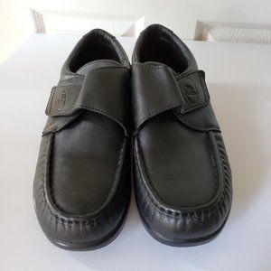 Propet Diabetic Shoes Mens Black Velcro Casual
